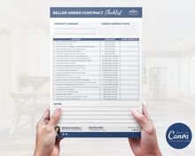 Load image into Gallery viewer, Seller Under Contract Checklist Template