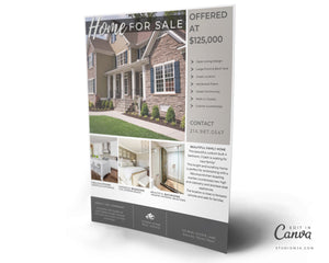 The Birchwood | Real Estate Flyer Template