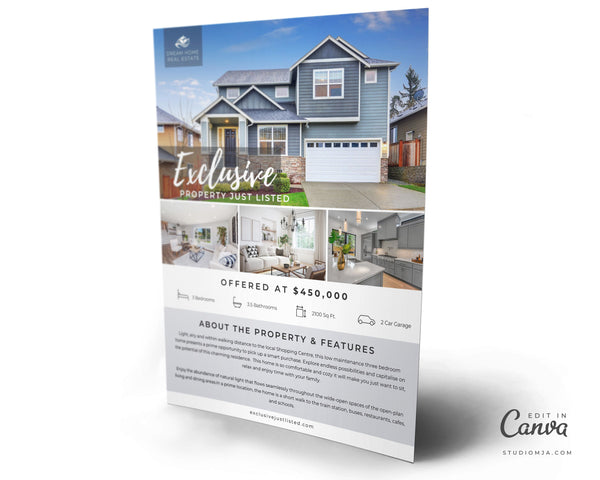 The Campion | Real Estate Flyer Template