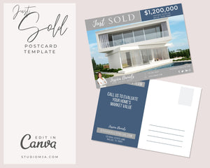 The Corbusien | Real Estate Postcard Template