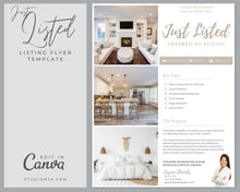 Load image into Gallery viewer, The Leafwood | Real Estate Flyer Template