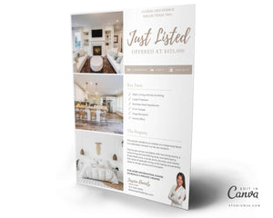 The Leafwood | Real Estate Flyer Template