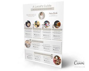 The Localist | Real Estate Guide Template