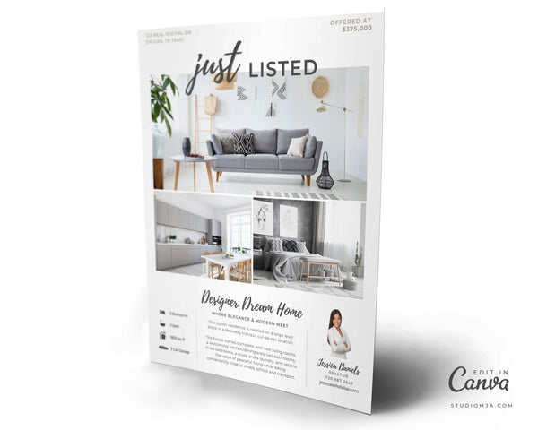 The Warren | Real Estate Flyer Template