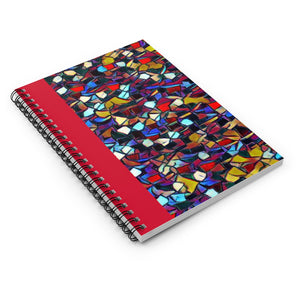 Ruby Spiral Notebook - Ruled Line