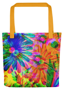 Jazzy 15x15 Tote Bag Dual Handles