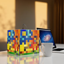 Load image into Gallery viewer, Mosaic 7.9 Inch Cube Lamp
