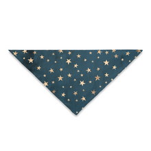 Load image into Gallery viewer, Pet Bandana Stars Pattern, Variants: Square, Triangle