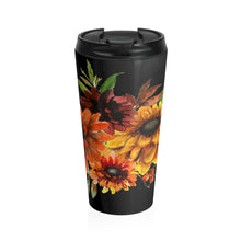 Load image into Gallery viewer, Autumn Night Stainless Steel 15 Ounce Travel Mug