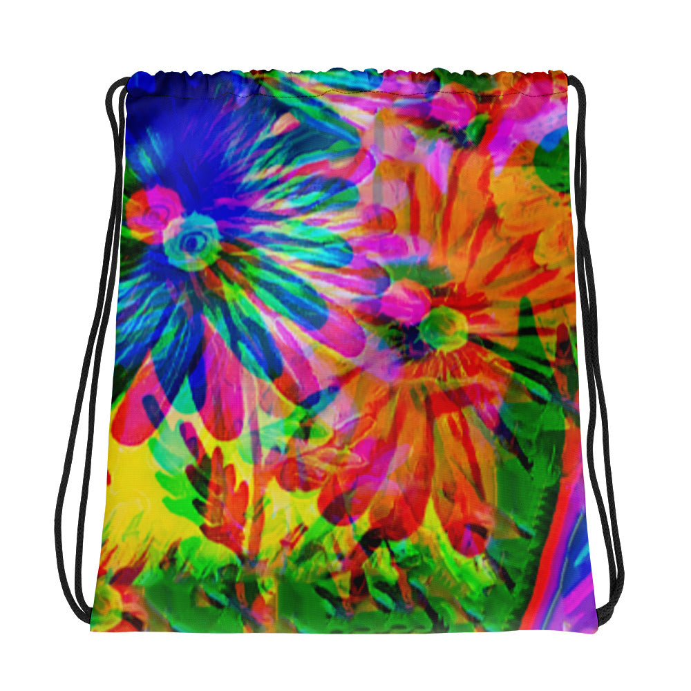 Jazzy Drawstring Bag