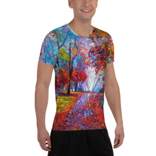 Load image into Gallery viewer, After The Rain Men's Athletic T-Shirt Nature