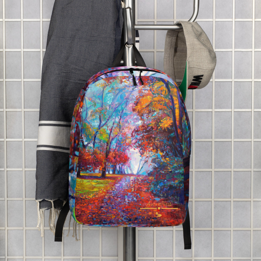 After The Rain Minimalist Backpack/Laptop Sleeve Tote Bag