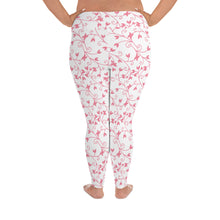 Load image into Gallery viewer, Pink Love Leggings, Sizes 2XL-6XL