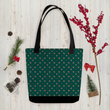 Load image into Gallery viewer, Gingerbread People Tote Bag
