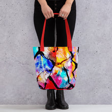 Load image into Gallery viewer, Stained Glass Tote bag 15x15