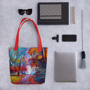After The Rain Tote Bag Carryall Purse