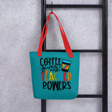 Load image into Gallery viewer, Teacher Powers Tote Bag - Teacher's Day