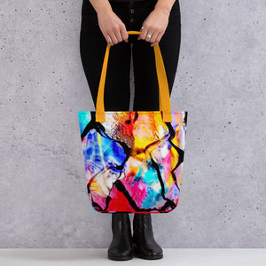 Stained Glass Tote bag 15x15