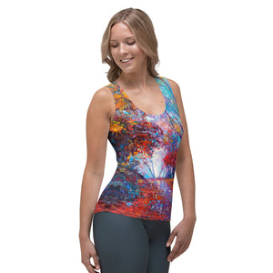 After The Rain Women's *Form Fitting* Tank Top