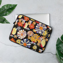Load image into Gallery viewer, Night Flowers Laptop Sleeve