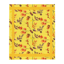 Load image into Gallery viewer, Autumn Yellow Throw Blanket 50x60 Inches Machine Washable SOFT Polyester