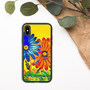 """The Garden"" Biodegradable iPhone Case (Decomposes In Approximately One Year)"