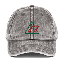 Load image into Gallery viewer, Joy Vintage Cotton Twill EMBROIDERED Cap Unisex Men's Women's Youth
