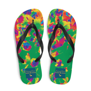 Inverted Green Fluorescent Flip Flops