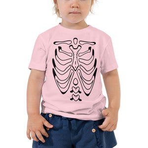 Infant Baby Toddler SKELETON Premium Tee | Bella + Canvas 3001-T Pre-Shrunk 100% Cotton Relaxed Fit