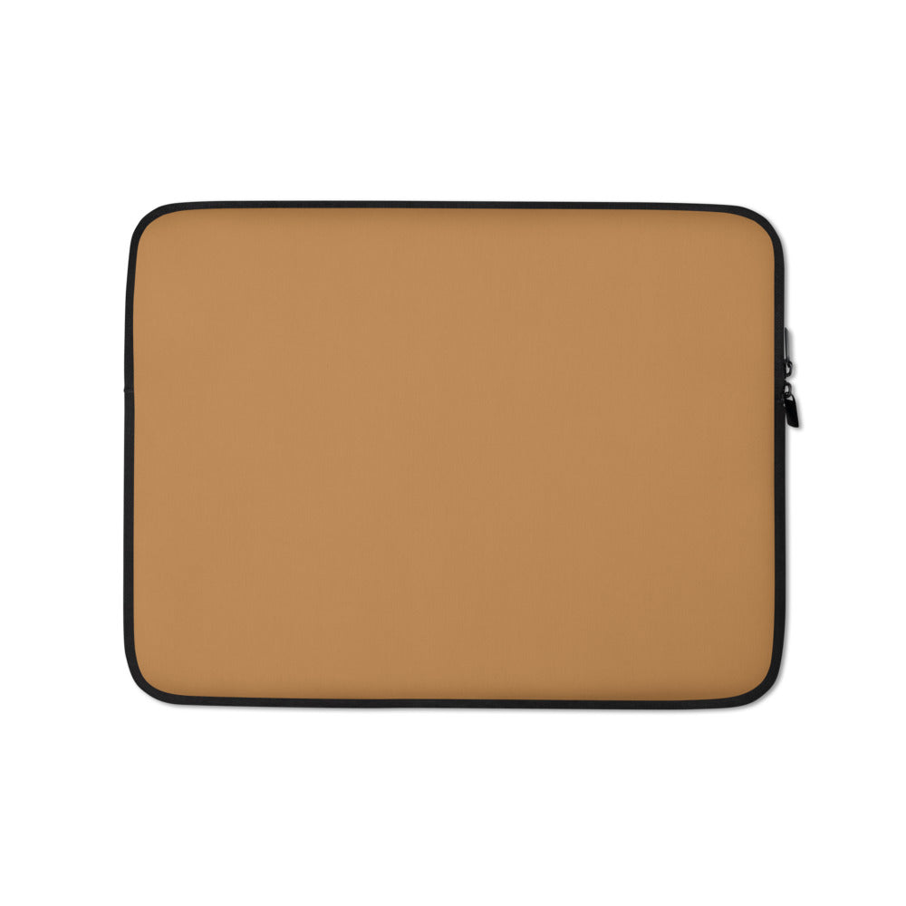 Light Brown Laptop Sleeve