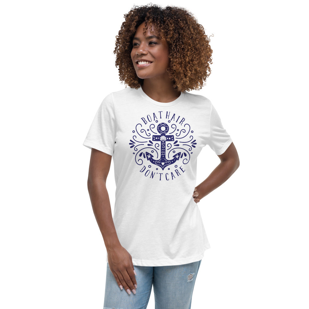 Women's Relaxed Boat/Nautical T-Shirt