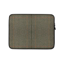 Load image into Gallery viewer, Faux Houndstooth Laptop Sleeve