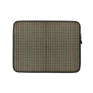 Faux Houndstooth Laptop Sleeve