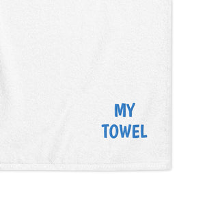Embroidered Oversized 100% Combed Turkish Cotton Towel 82x39 Inches MY TOWEL