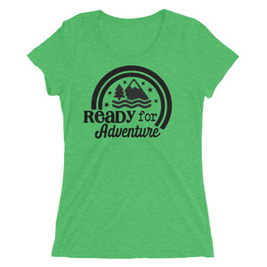 Ready For Adventure Women's Tri Blend Tee