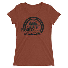 Load image into Gallery viewer, Ready For Adventure Women's Tri Blend Tee
