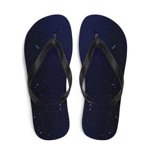 Load image into Gallery viewer, Midnight Star Flip-Flops