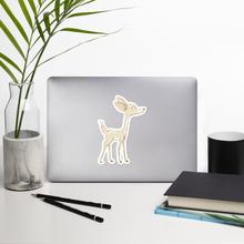 Load image into Gallery viewer, Large Deer Bubble-Free Kiss Cut Sticker
