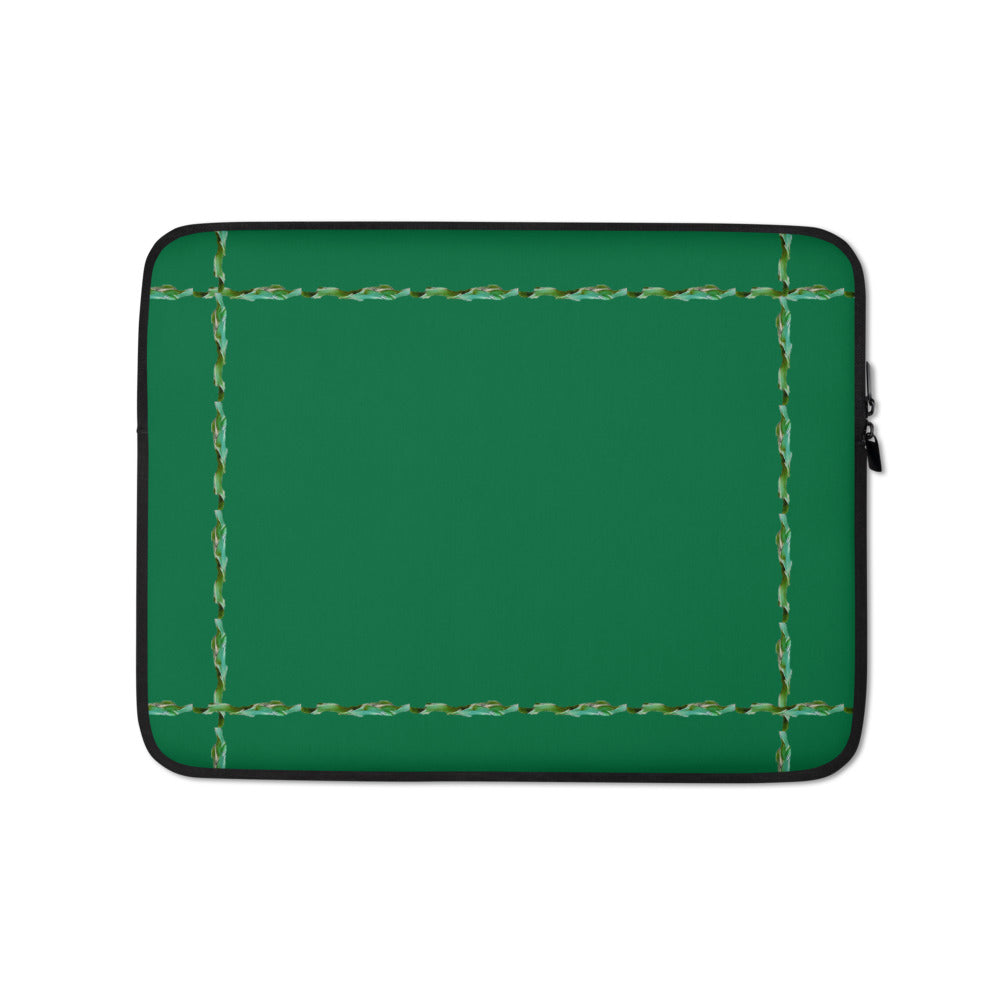Green#1 Laptop Sleeve With Our