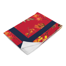 Load image into Gallery viewer, Autumn Red Throw Blanket 50x60