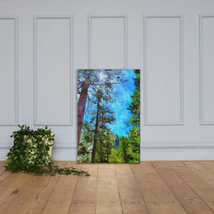 The Forest 36x24 Inches Canvas Wall Art Decor