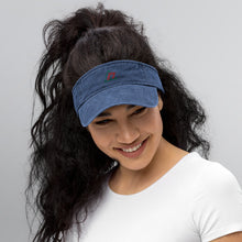 "Load image into Gallery viewer, ""Joy"" Denim Visor In Three Color Choices"