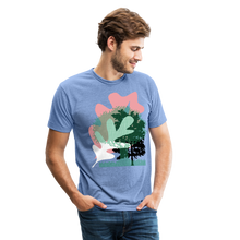 Load image into Gallery viewer, Unisex Tri-Blend T-Shirt - heather Blue