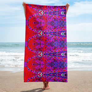 Amethyst Beach Towel 30x60