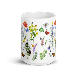 Spring Bouquet Ceramic Mug