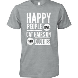 Happy People Have Cat Hairs On Their Clothes