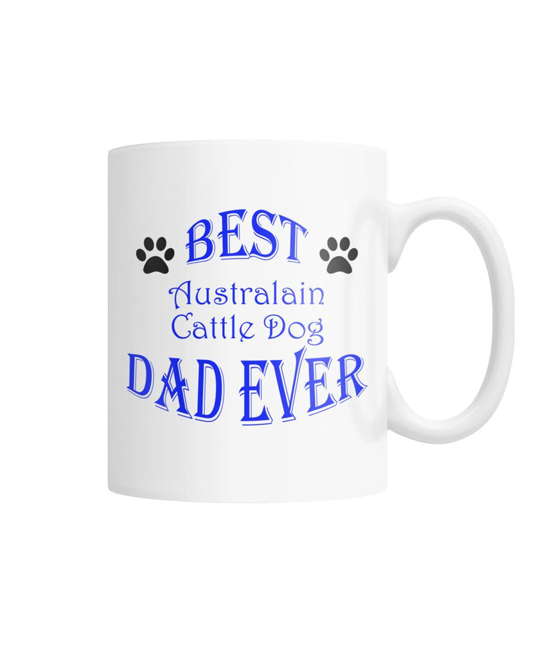 Australian Cattle Dog White Coffee Mug