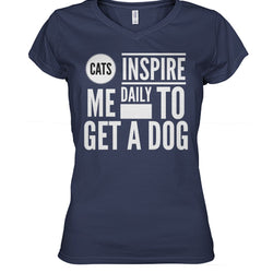 Cats Inspire Me Daily To Get A Dog