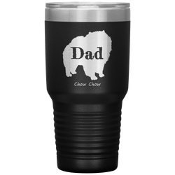 Chow Chow Dad Silhouette 30 Oz. Tumbler