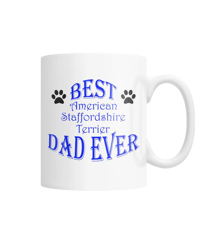 American Staffordshire Terrier White Coffee Mug